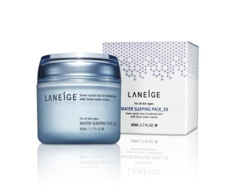 My favorite nighttime moisturizer: Laneige Sleeping Pack