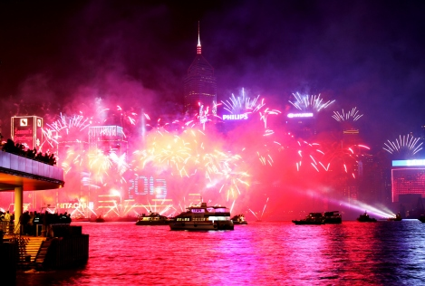 Happy New Year Hong Kong!