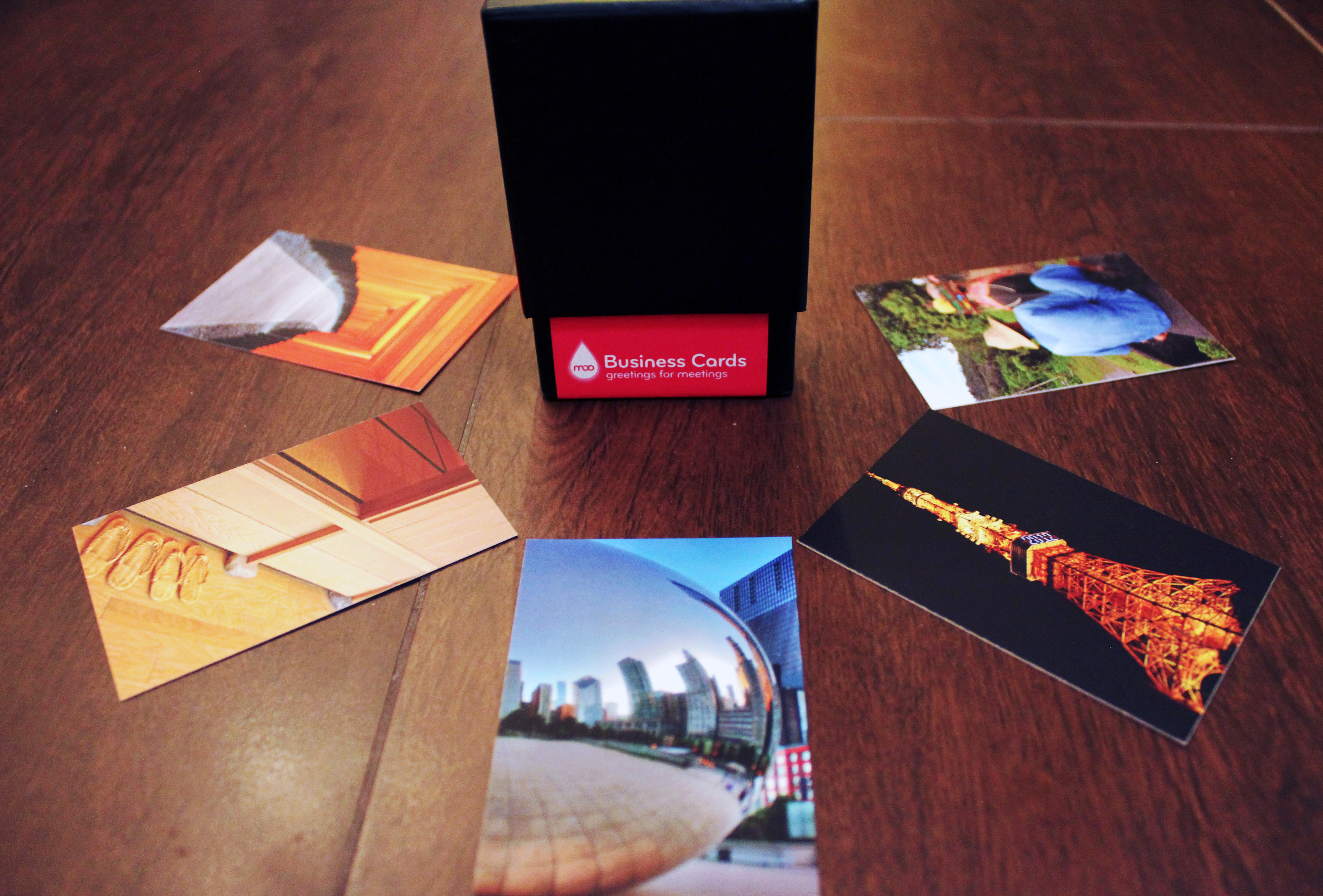 Memorable Travel Blog Business Cards