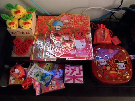 Prepping for Chinese New Year