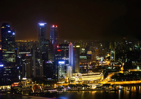 Foto Friday: Singapore's Skyline