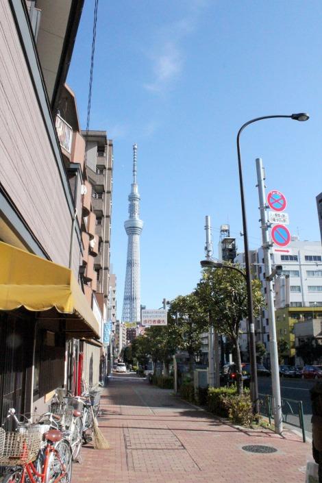 Even Tokyo was clean