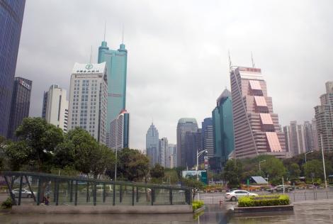 Rainy Shenzhen